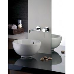 Vendita miscelatore lavabo a parete frattini pepe arredailtuobagno - Rubinetto bagno a muro ...