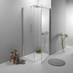 Vendita box doccia elite angolare 70x90 cm porta battente con lato ...